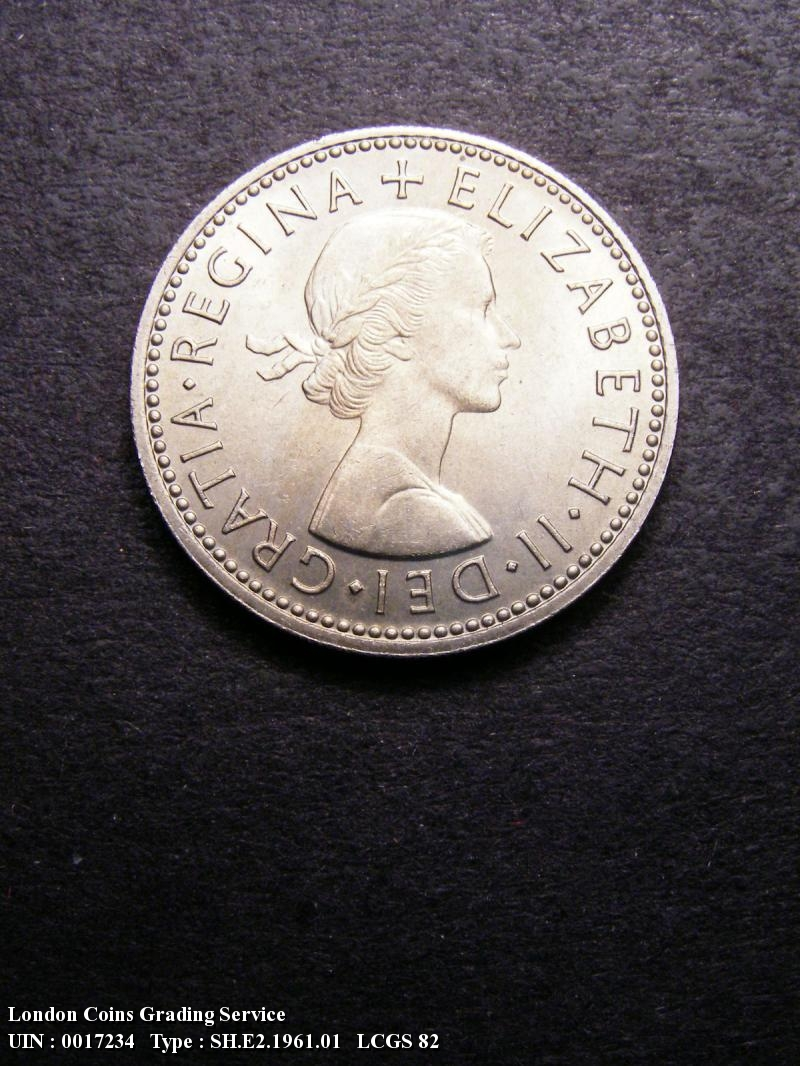 Shilling 1961 Elizabeth II. English - Obverse