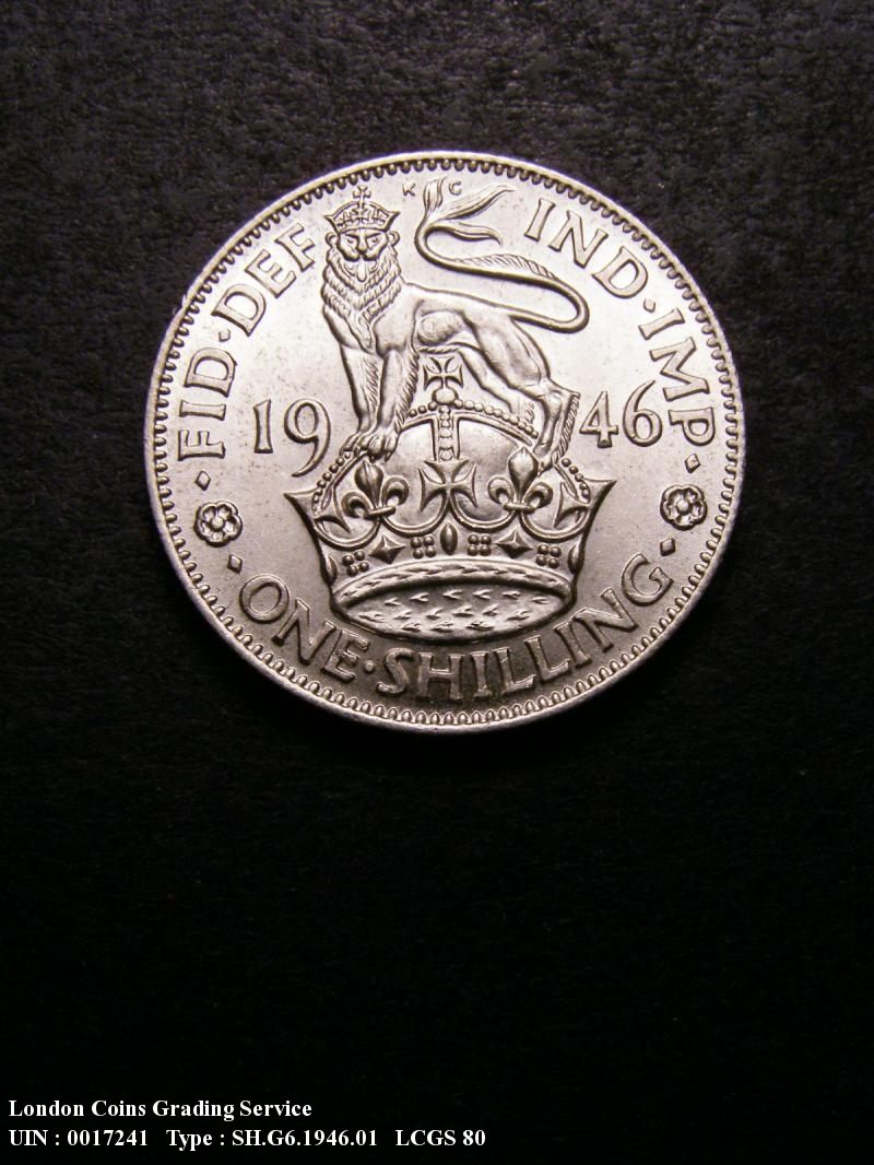 Shilling 1946 George VI. English - Reverse