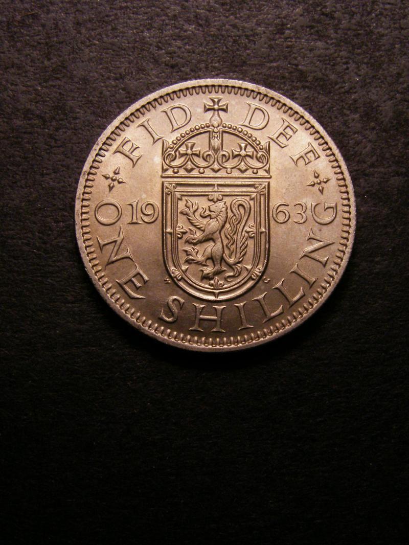 Shilling 1963 Elizabeth II. Scottish - Reverse
