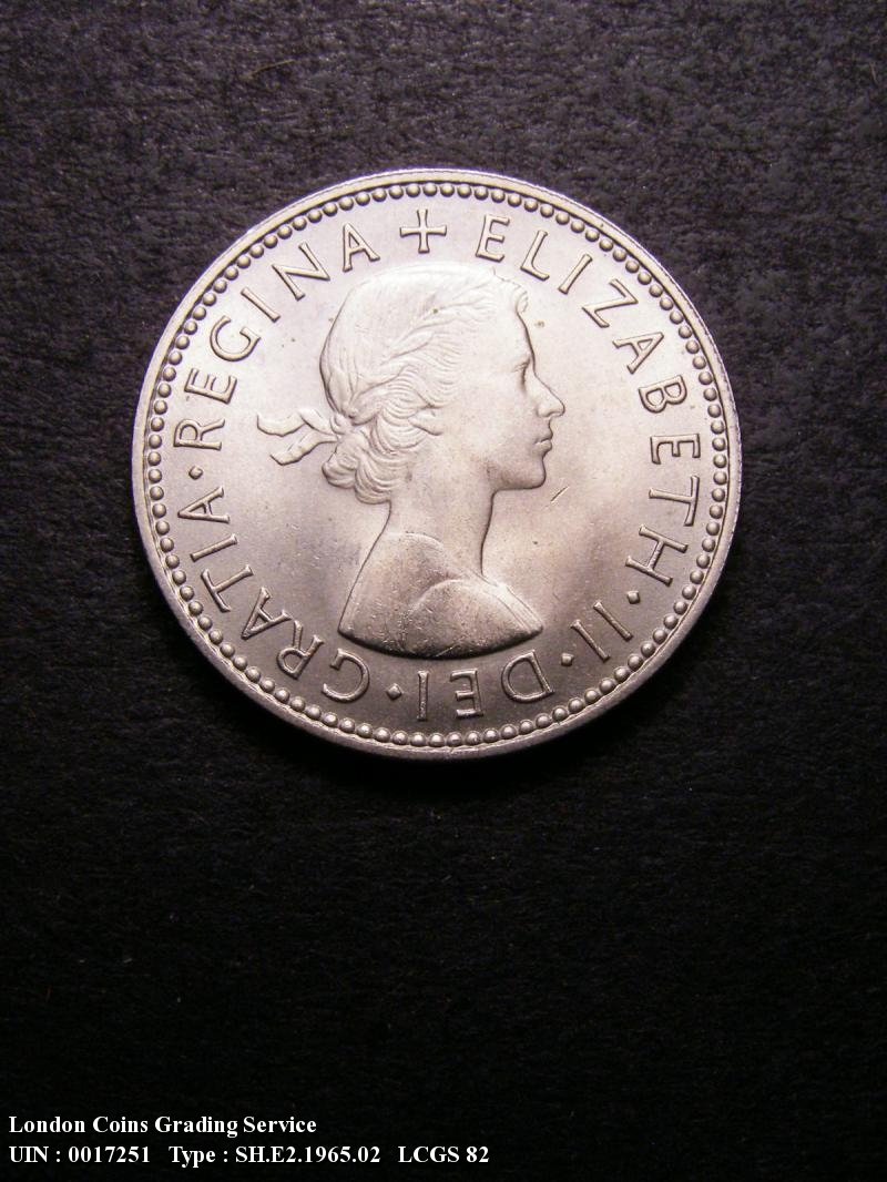 Shilling 1965 Elizabeth II. Scottish - Obverse
