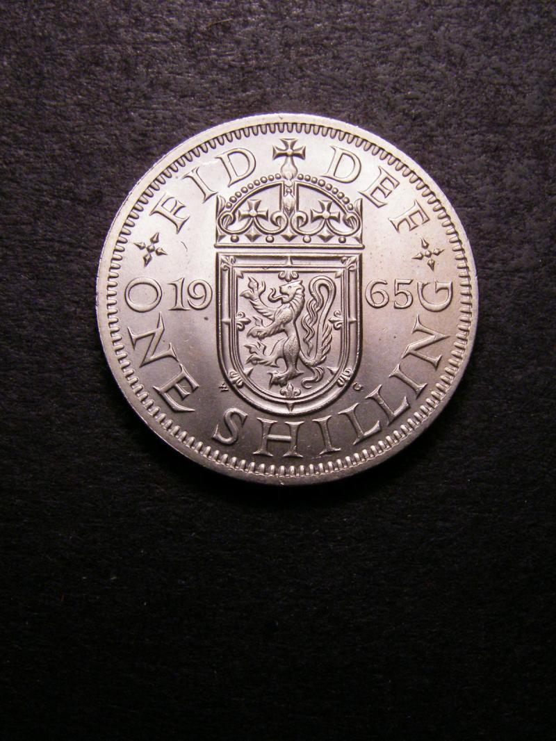 Shilling 1965 Elizabeth II. Scottish - Reverse