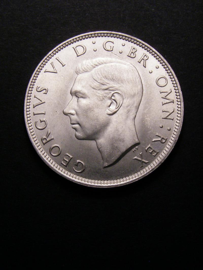 Halfcrown 1945 George VI. Standard type - Obverse