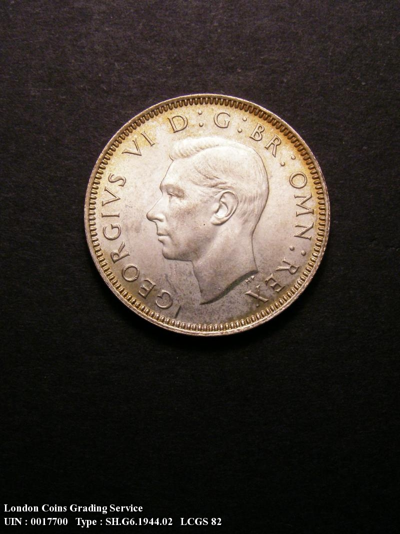 Shilling 1944 George VI. Scottish - Obverse