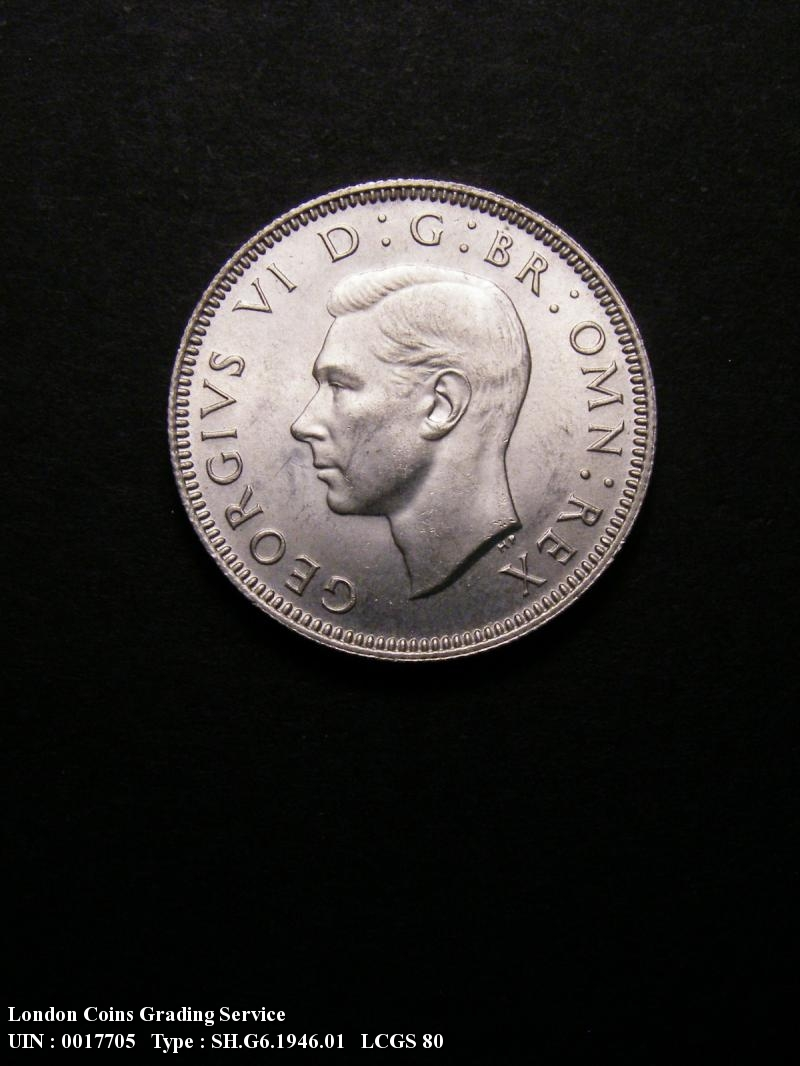 Shilling 1946 George VI. English - Obverse