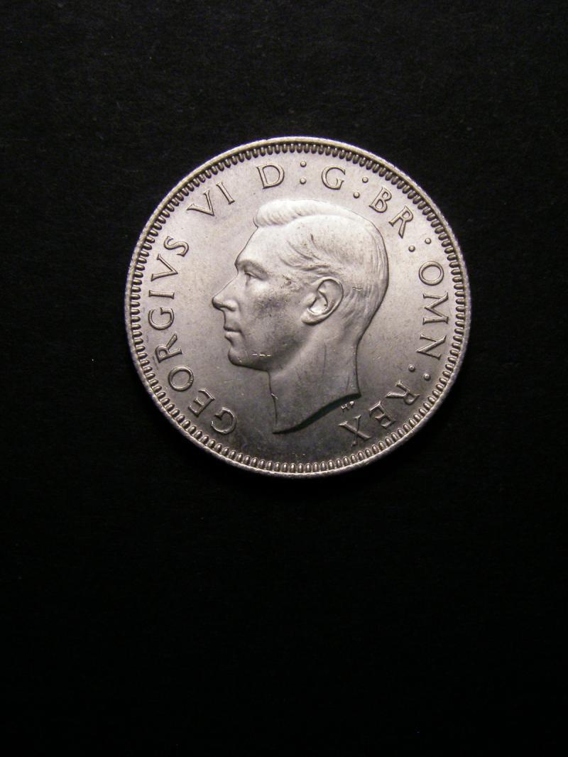 Shilling 1945 George VI. Scottish - Obverse