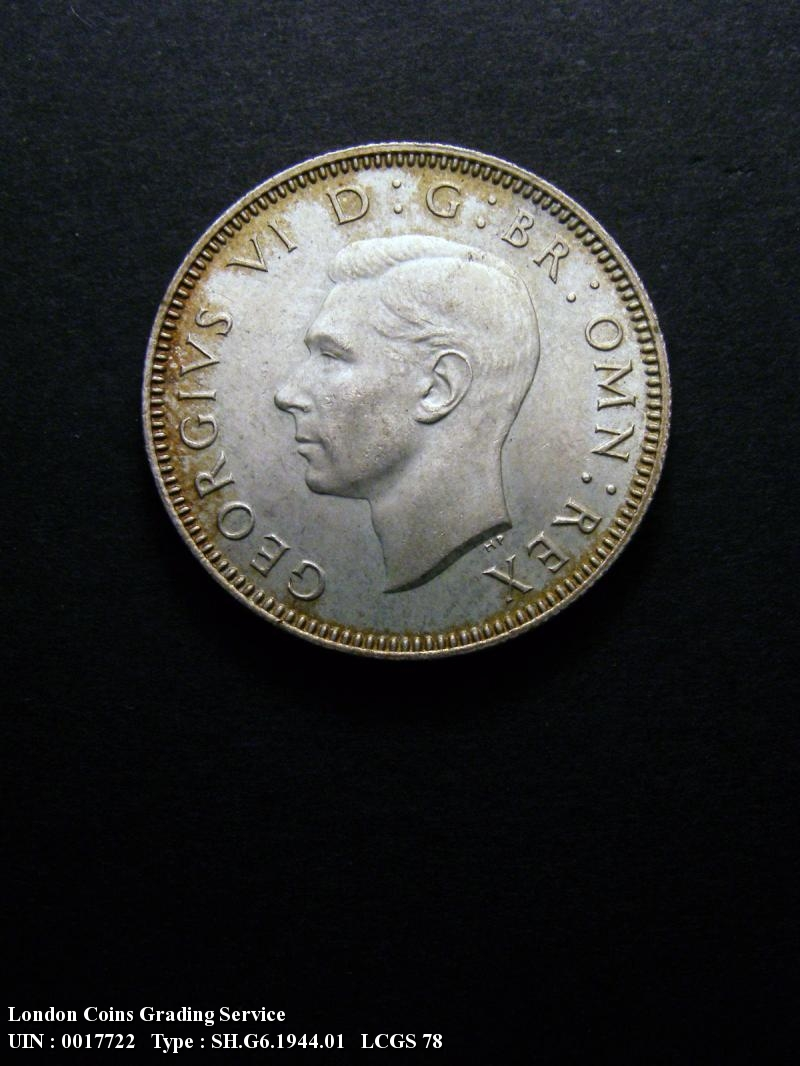 Shilling 1944 George VI. English - Obverse