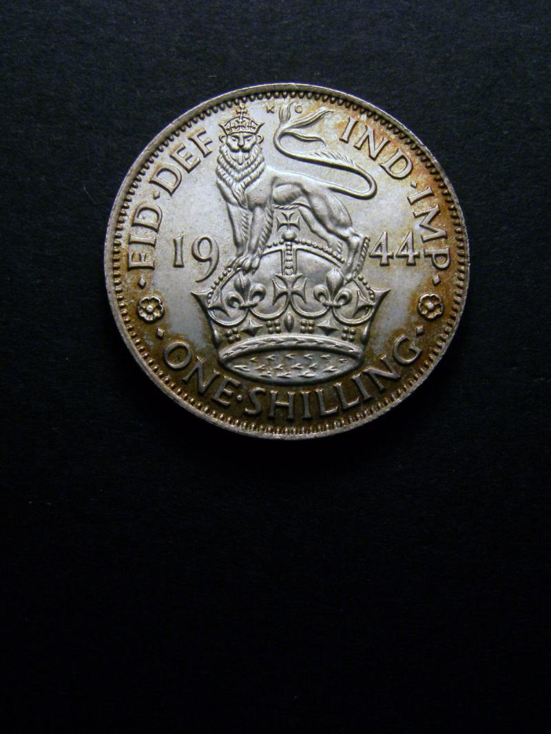 Shilling 1944 George VI. English - Reverse