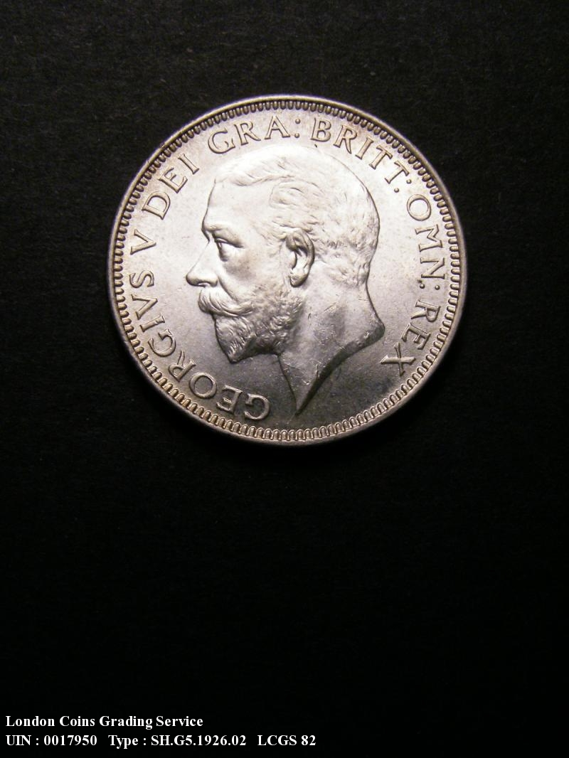 Shilling 1926 George V. Modified Effigy - Obverse
