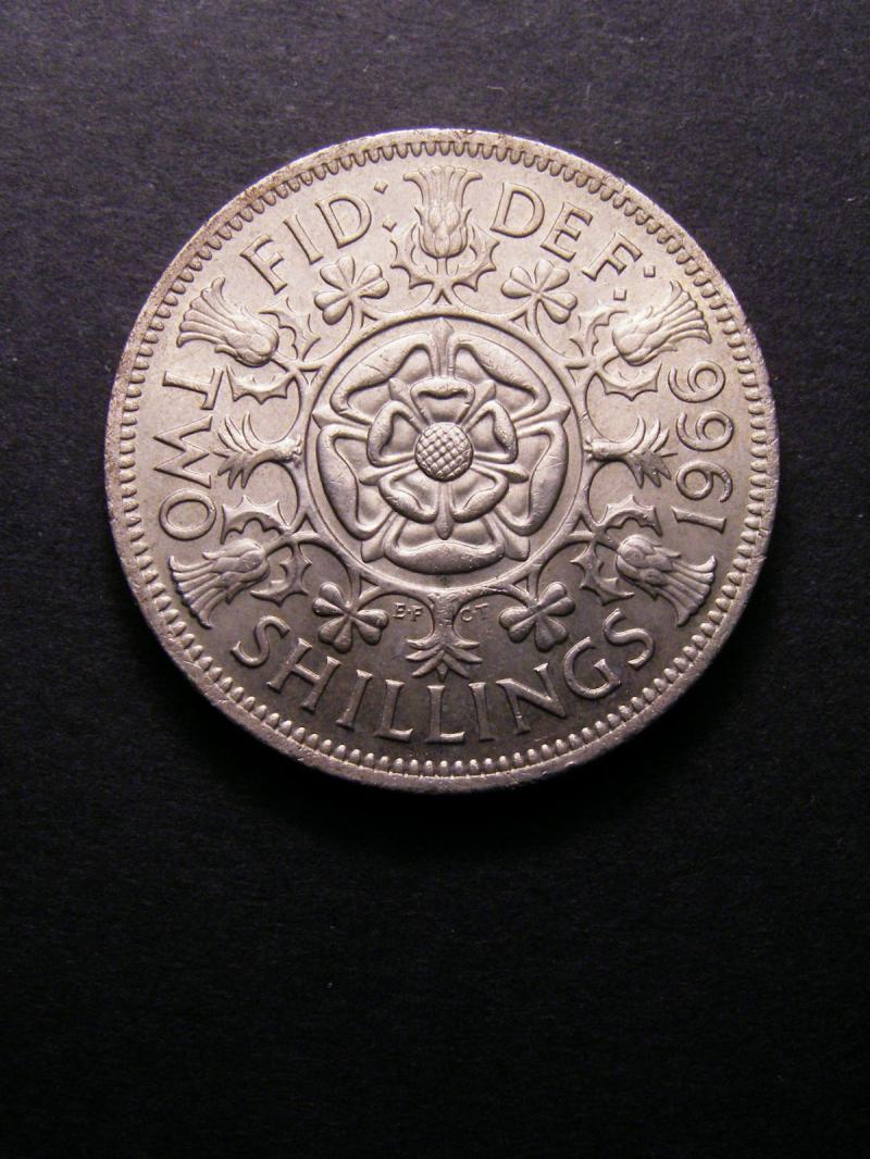 Florin 1966 Elizabeth II. - Reverse