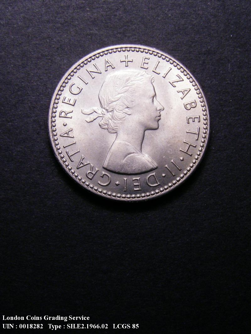 Shilling 1966 Elizabeth II. Scottish - Obverse