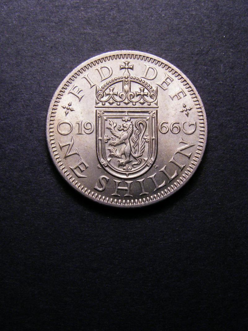 Shilling 1966 Elizabeth II. Scottish - Reverse