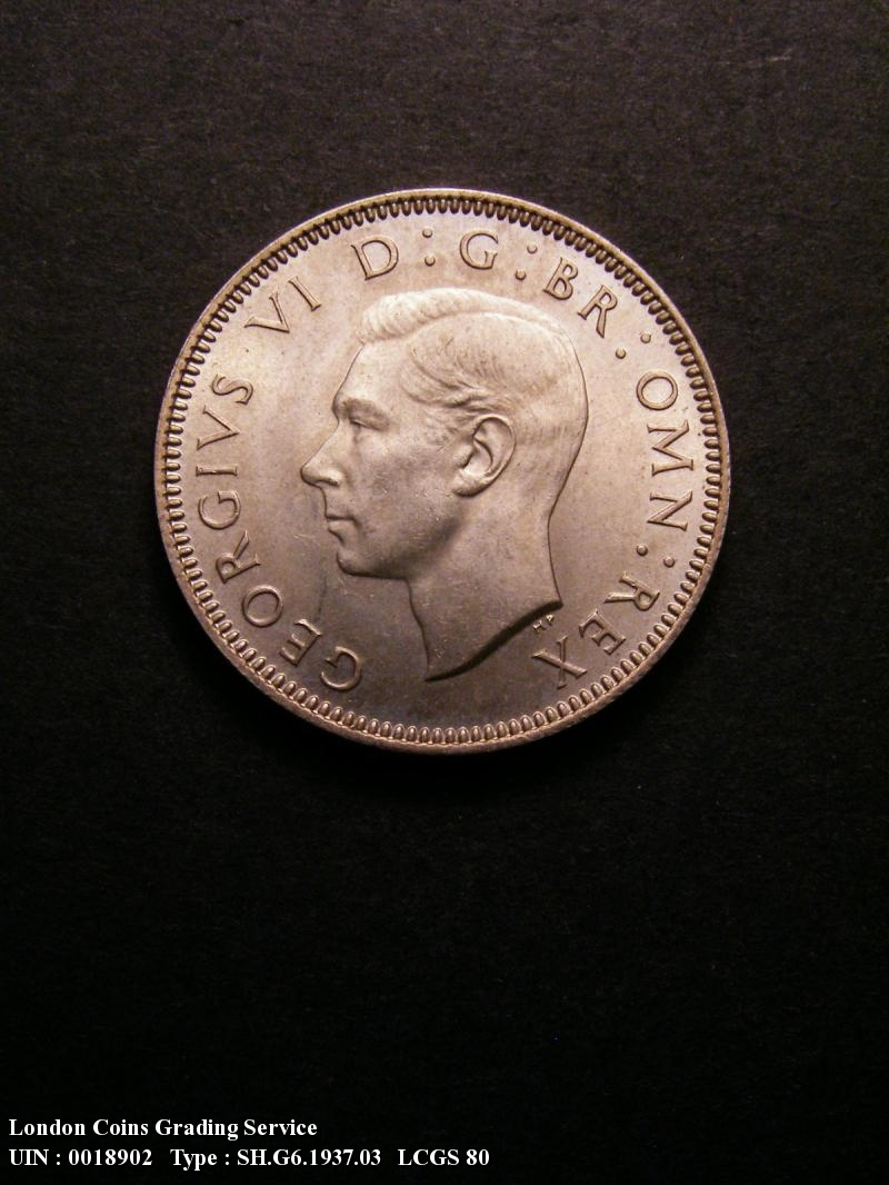 Shilling 1937 George VI. Scottish - Obverse