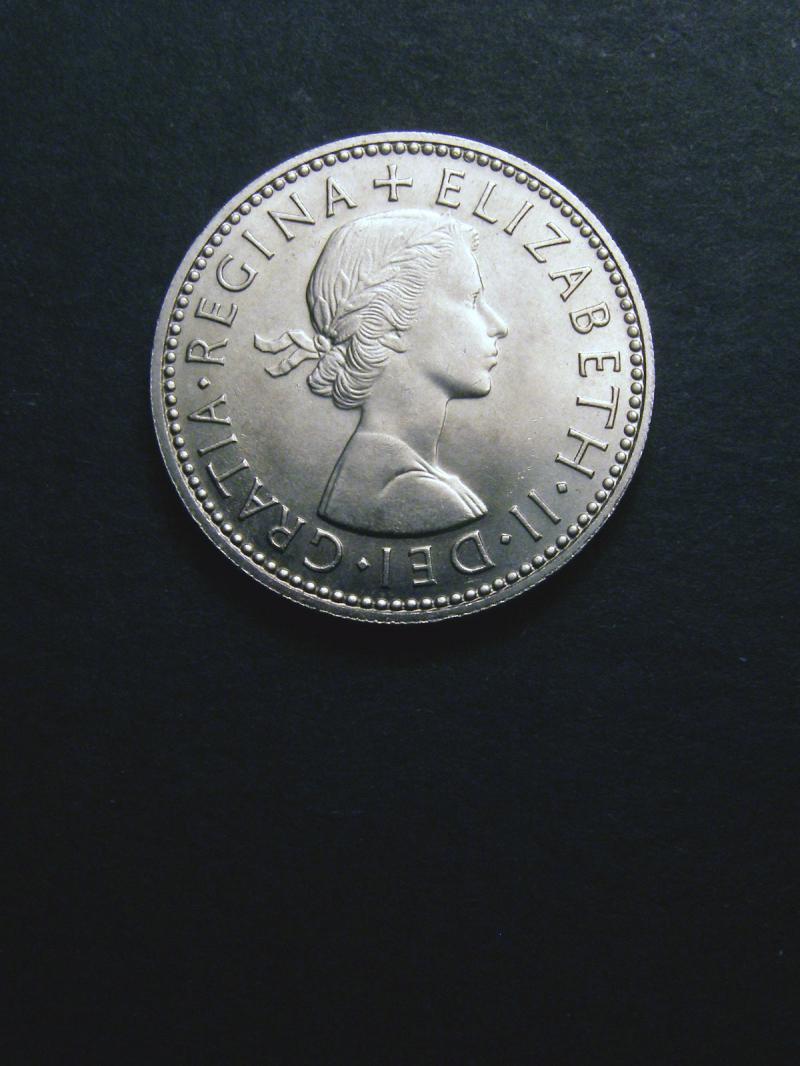 Shilling 1960 Elizabeth II. Scottish - Obverse