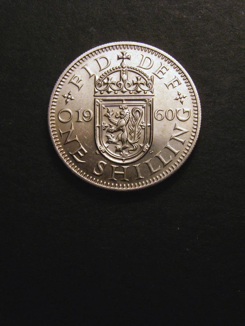 Shilling 1960 Elizabeth II. Scottish - Reverse