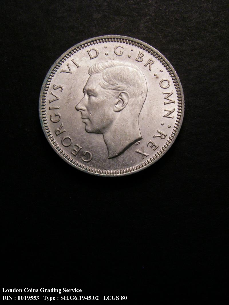 Shilling 1945 George VI. Scottish - Obverse