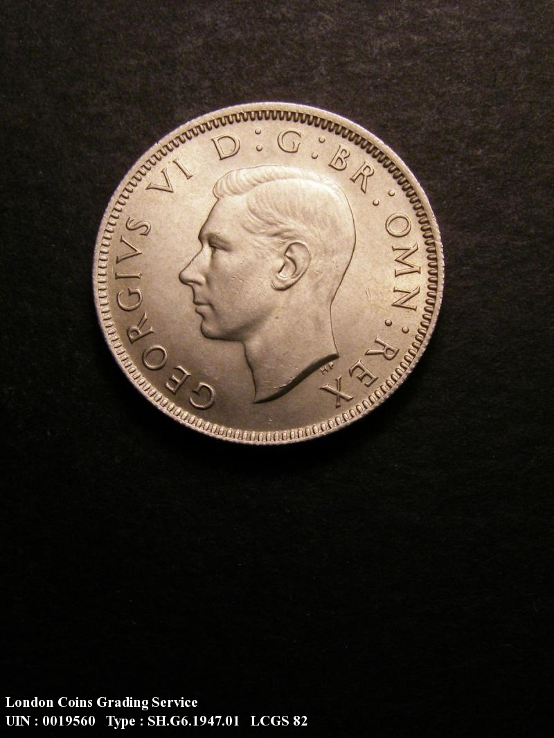 Shilling 1947 George VI. English - Obverse