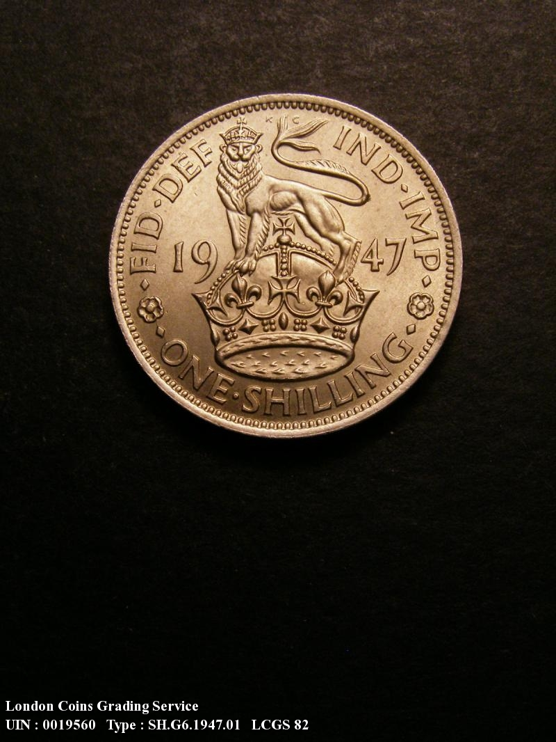 Shilling 1947 George VI. English - Reverse