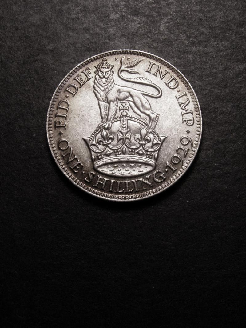 Shilling 1929 George V. Standard type - Reverse