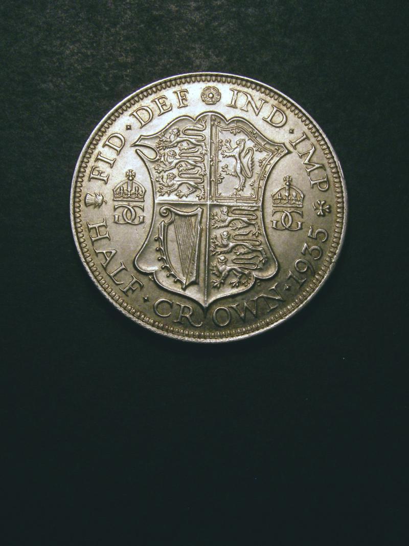 Halfcrown 1935 George V. Standard type - Reverse