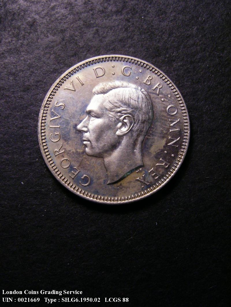 Shilling 1950 George VI. English. Proof - Obverse