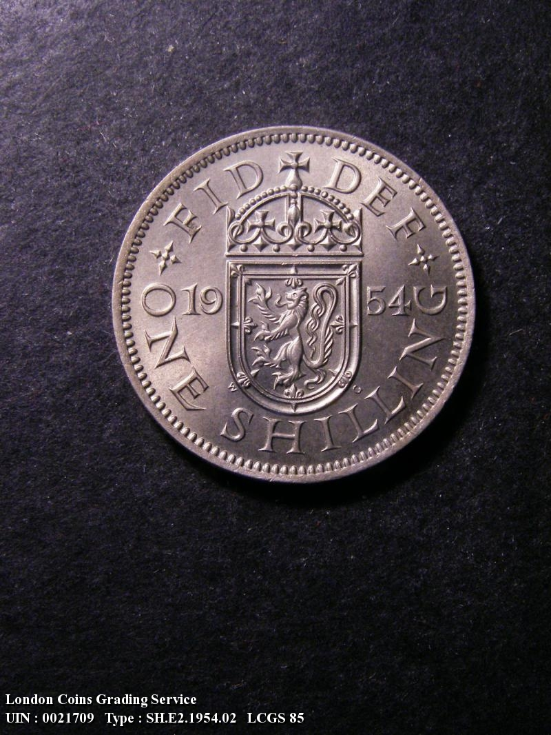 Shilling 1954 Elizabeth II. Scottish - Reverse