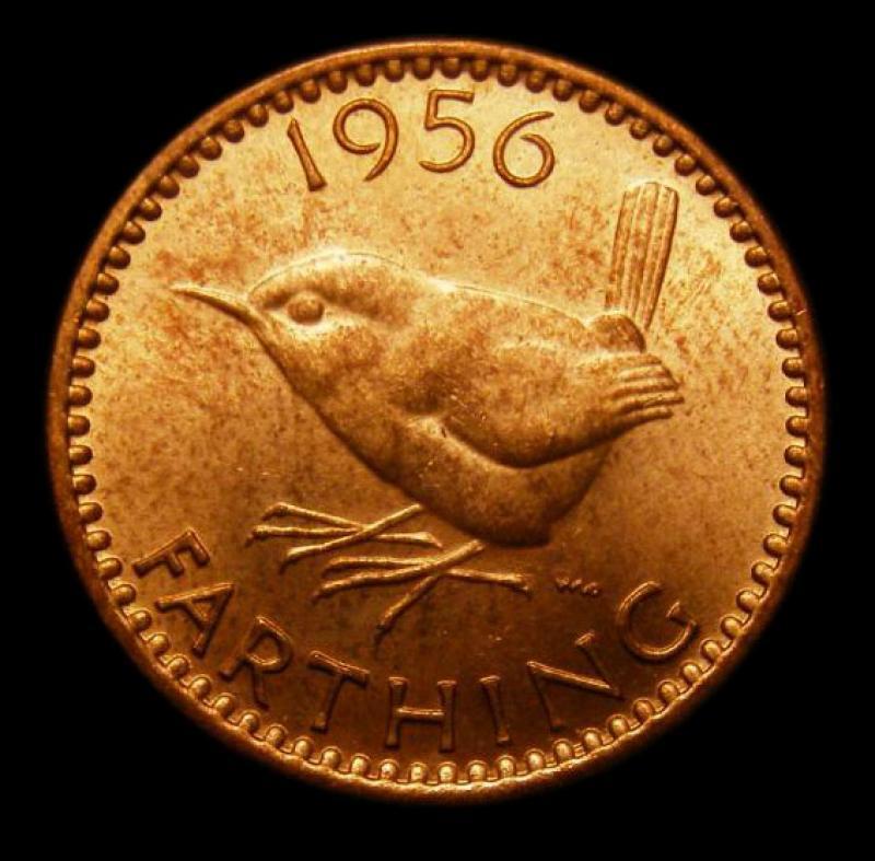 Farthing 1956 Elizabeth II. Dies 3+D - Reverse