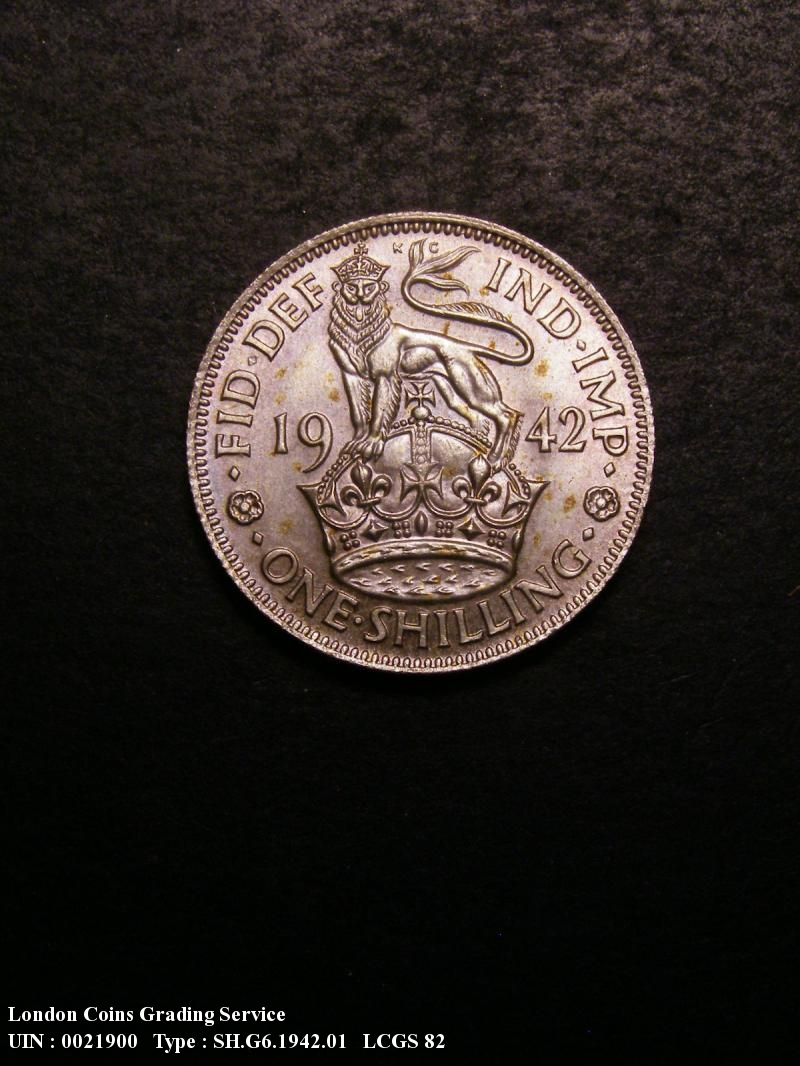 Shilling 1942 George VI. English - Reverse