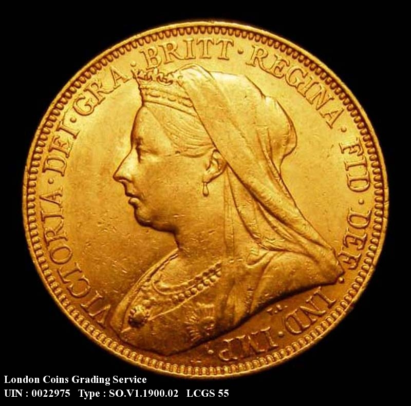 Gold Sovereign 1900 Victoria. Sydney - Obverse