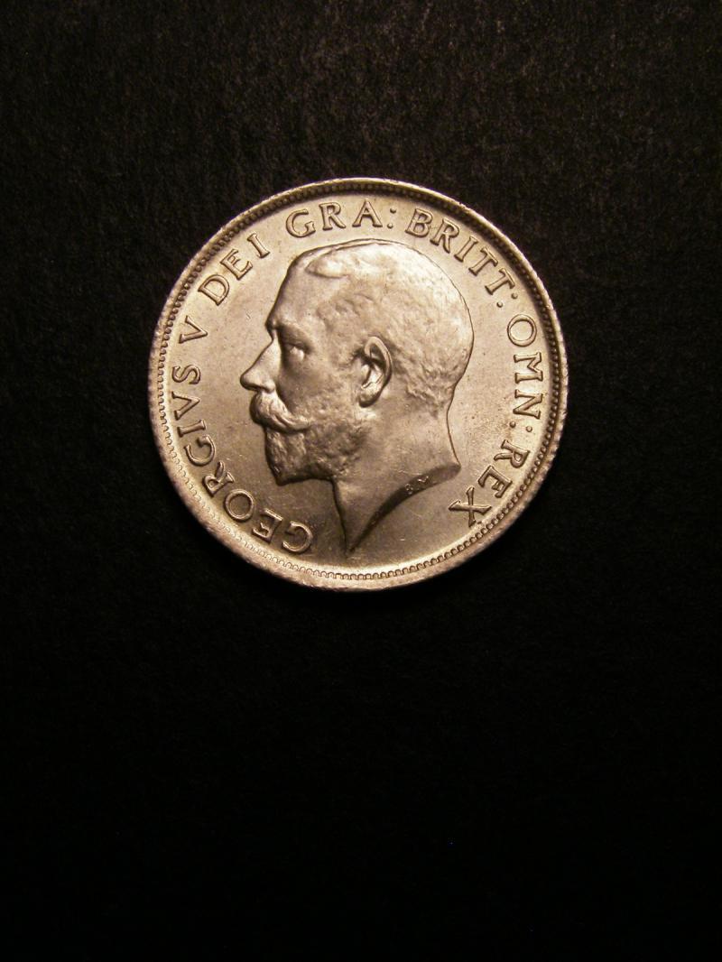 Shilling 1914 George V. Standard type - Obverse