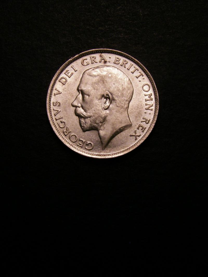 Shilling 1916 George V. Standard type - Obverse