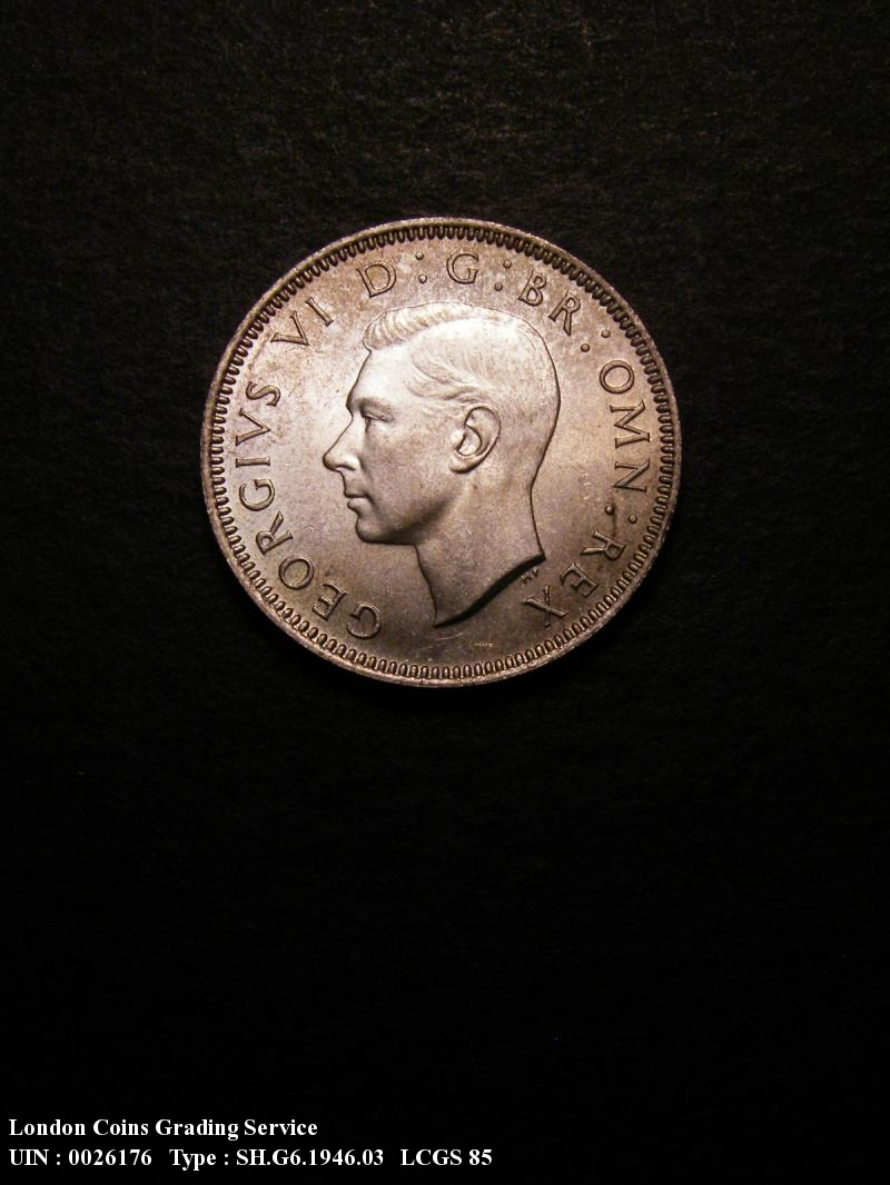 Shilling 1946 George VI. Scottish - Obverse