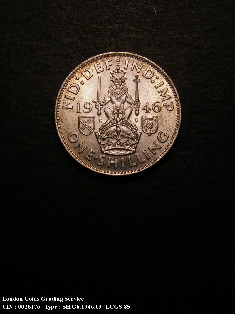 Shilling 1946 George VI. Scottish - Reverse