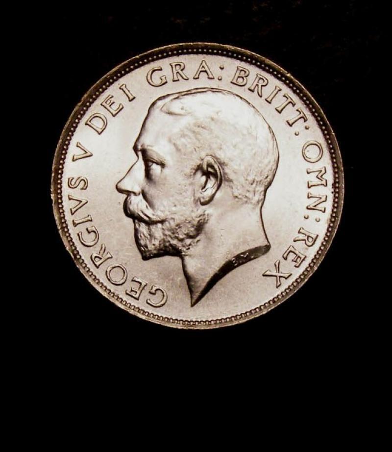 Shilling 1915 George V. Standard type - Obverse