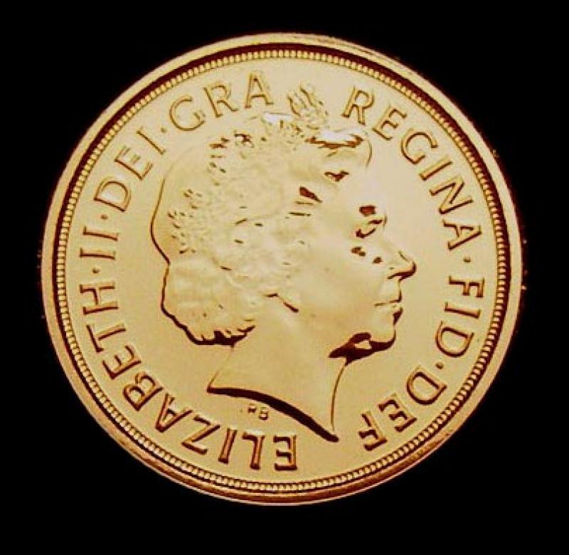 Quarter Sovereign 2009 Elizabeth II. Standard type - Obverse