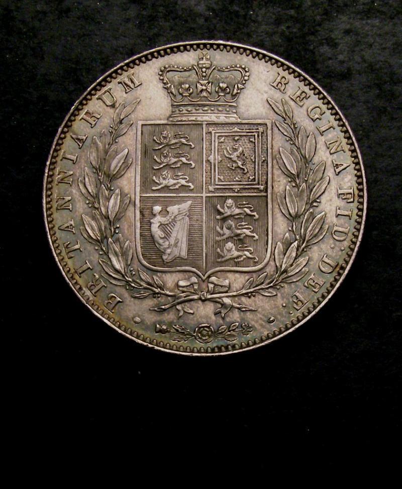 Halfcrown 1842 Victoria. Standard type - Reverse