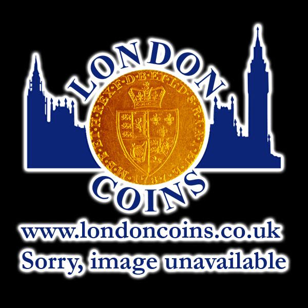 Penny 1806 George III. incuse curl KP37 - Reverse