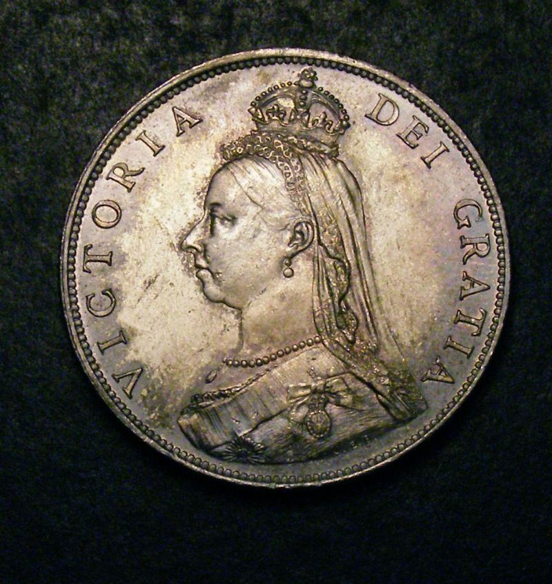 Florin 1887 Victoria. JH dies 1A - Obverse