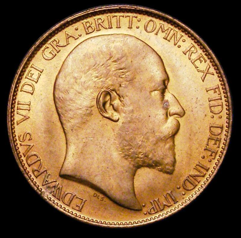 Halfpenny 1903 Edward VII. Dies 1+B - Obverse