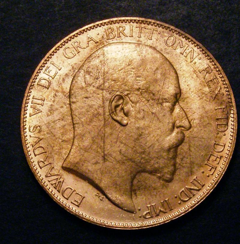 Penny 1904 Edward VII. dies 1+B - Obverse