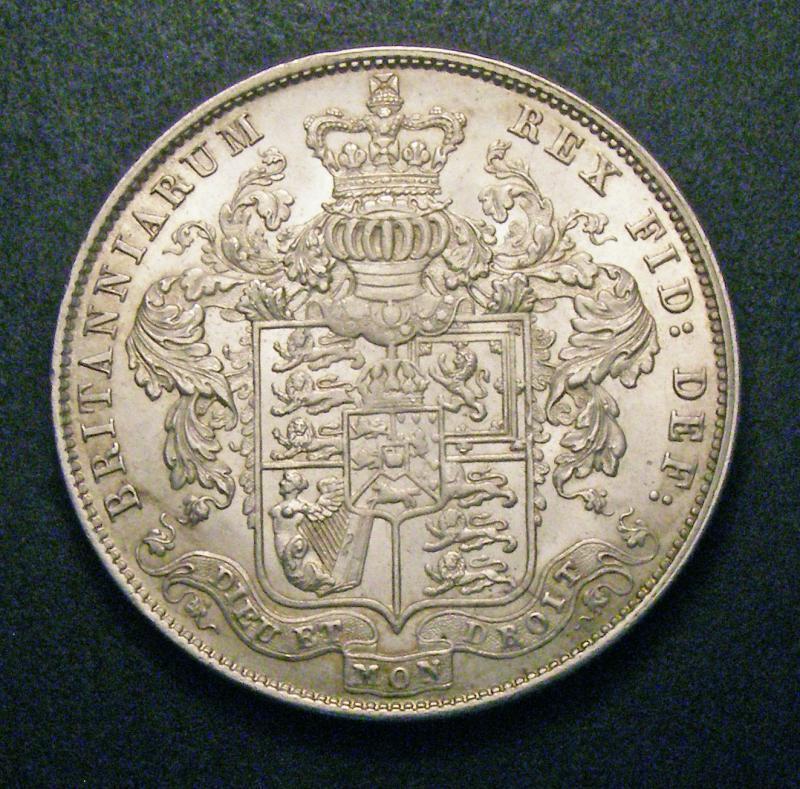 Halfcrown 1829 George IV. Standard type - Reverse